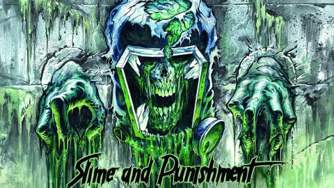 Cover art for Municipal Waste - Slime And Punishment album