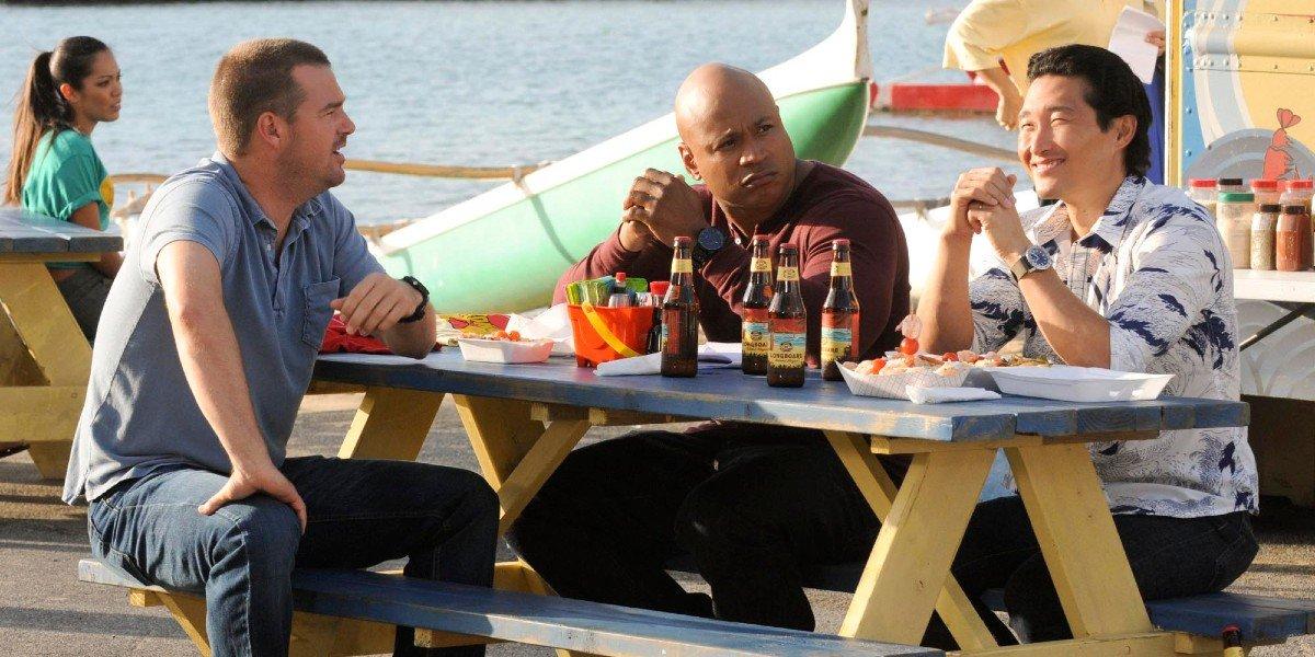 Chris O'Donnell, LL Cool J, Daniel Dae Kim - Hawaii Five-0