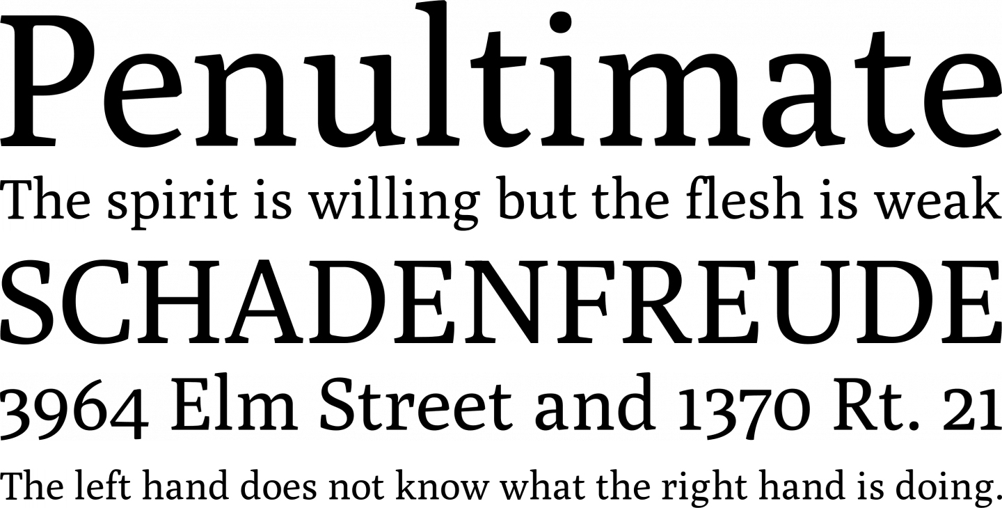 Best free fonts: Poly