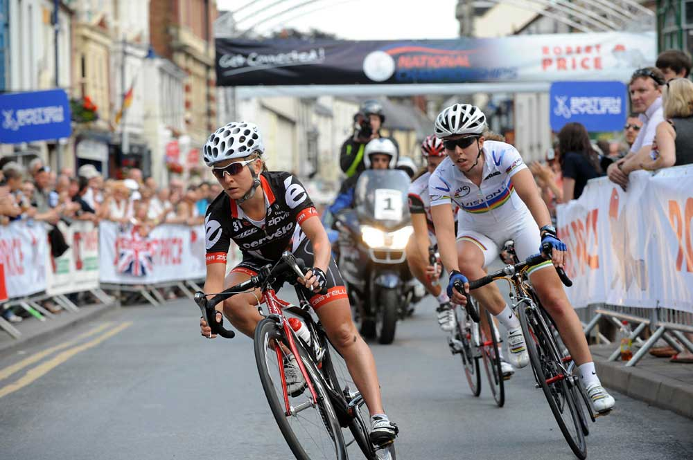 emma pooley, nicole cooke, cooke, national champs, 2009, british cycling, racing, cycle racing, abergavenny