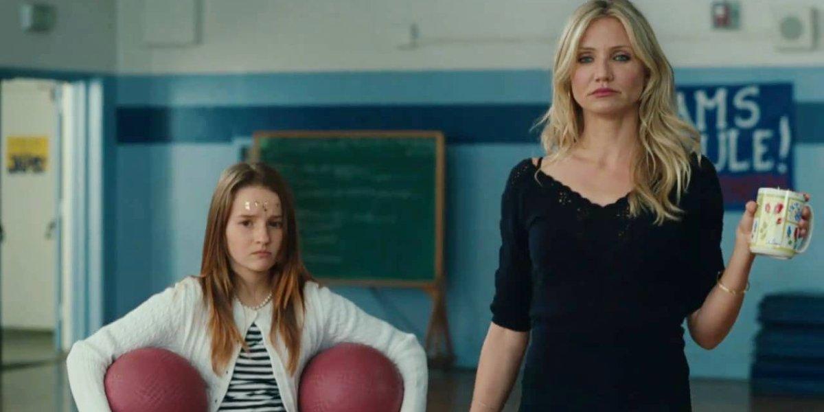 Kaitlyn Dever and Cameron Diaz in Bad Teacher