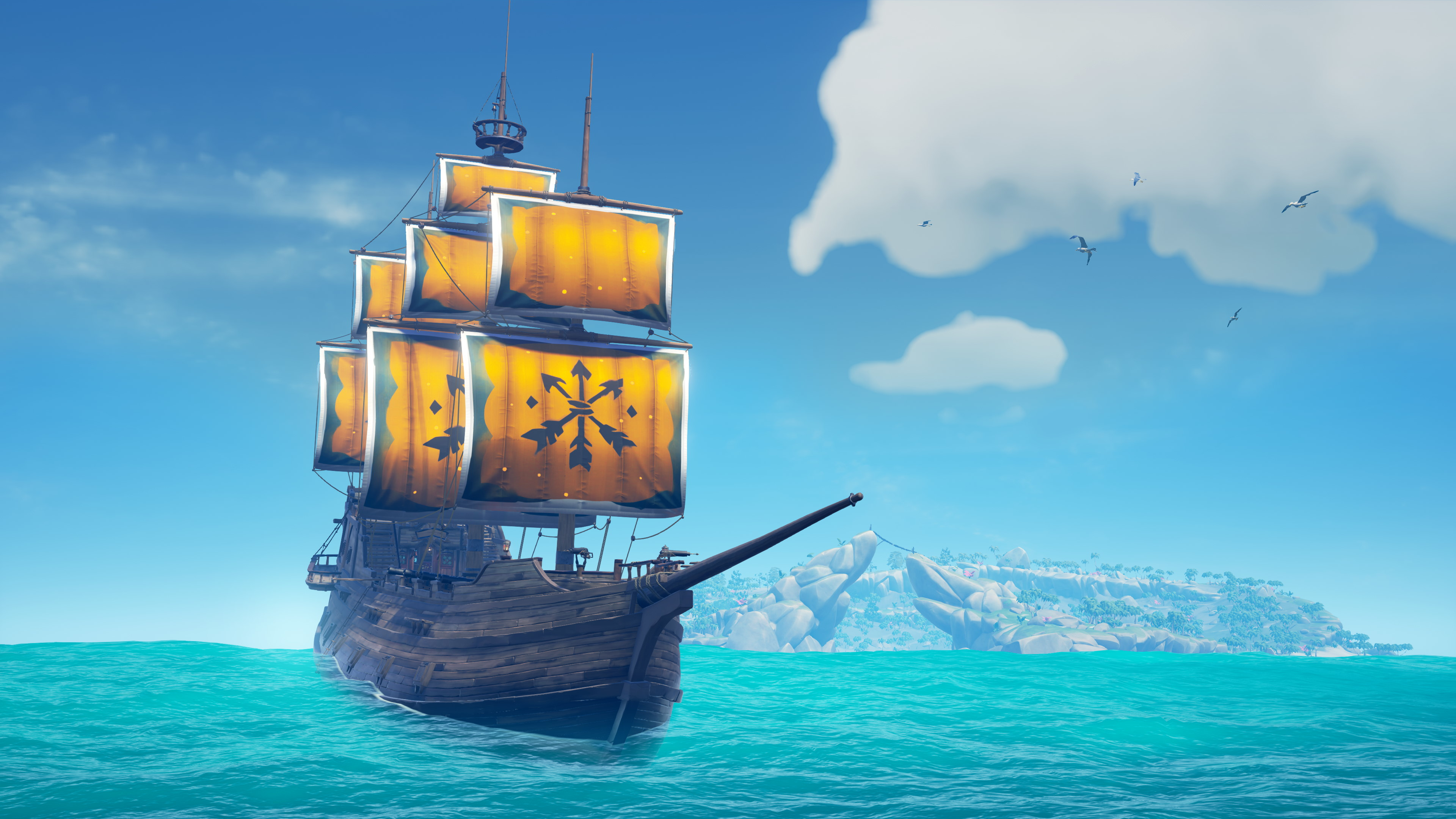 Sea of Thieves is raising funds for cancer research with the swanky new Sails of Union
