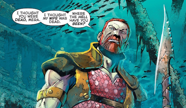 King Nereus in the Aquaman comics