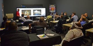 DPI and Partners Hold Warp and Blend Training