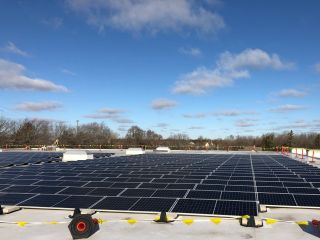Almo Adds Solar Panels to WI Warehouse Facility