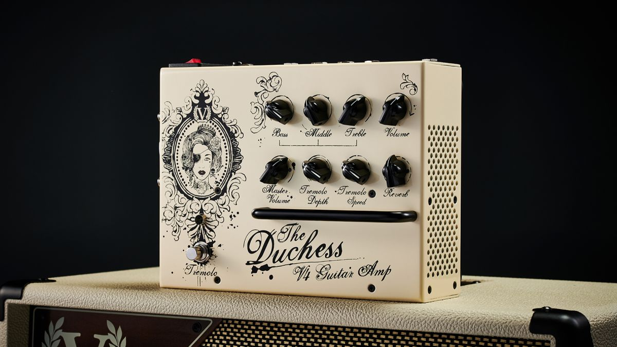 NAMM 2020: Victory's V4 Duchess amp is a pint-sized, fairly priced option for less gain and more tone
