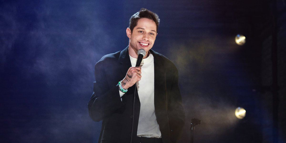 Pete Davidson in Alive From New York