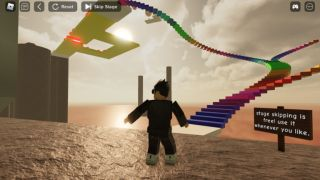 Climb the GIant Man in Roblox