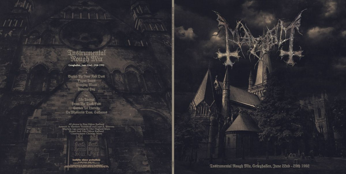First Look At Mayhem S Limited Edition 25th Anniversary De Mysteriis Dom Sathanas Box Set Louder