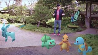 Pokémon Go using Microsoft HoloLens