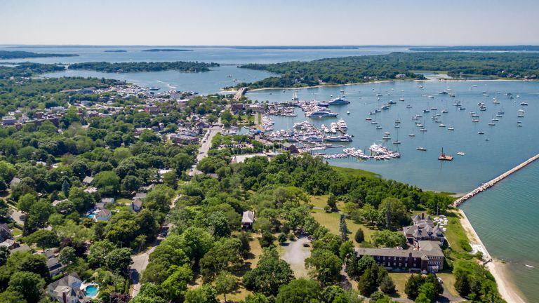 Aerial Photo of Sag Harbor, NY