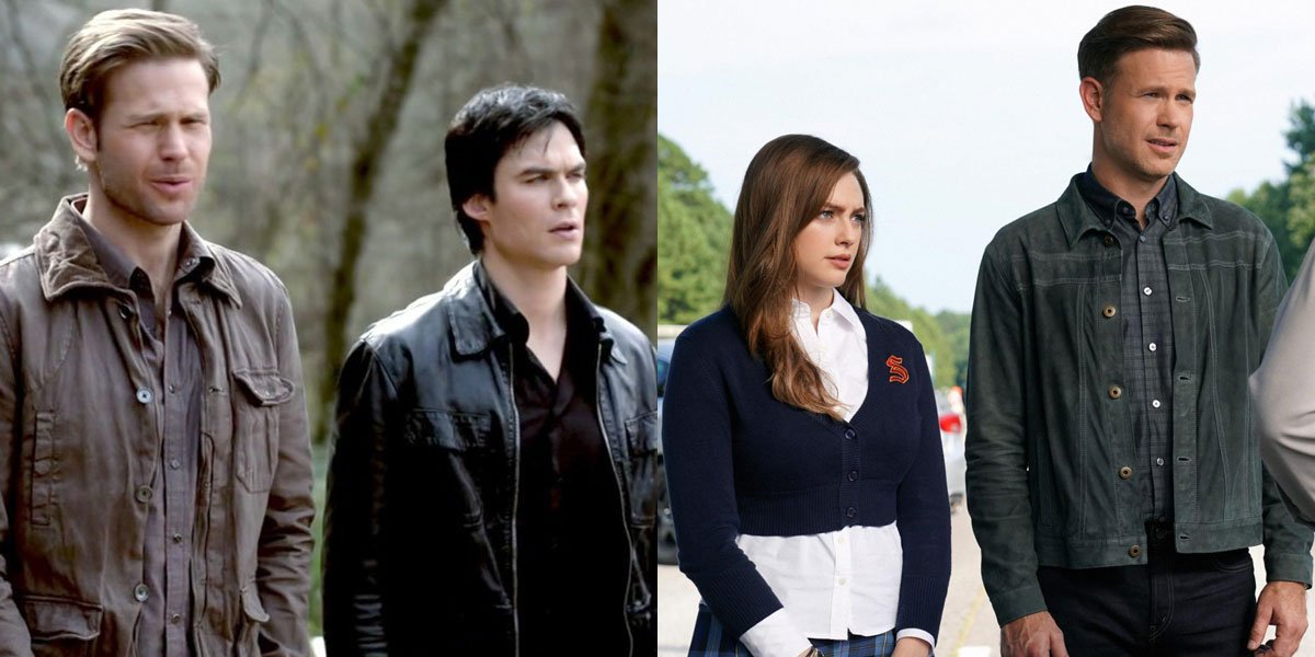 TVD and Legacies side-by-side with Alaric