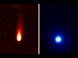 Comet ISON Photos by Spitzer Space Telescope