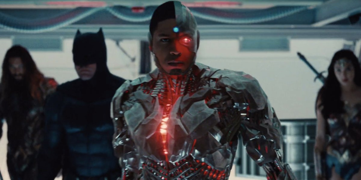Cyborg in the Justice League