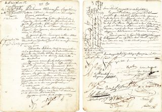 napoleon signed contract