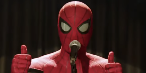 Tom Holland is Spider-Man in Far From Home