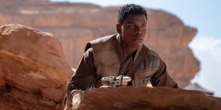 John Boyega as Finn in Star Wars: The Rise of Skywalker