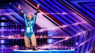 Katie Kusiciel on NBC's 'America's Got Talent'