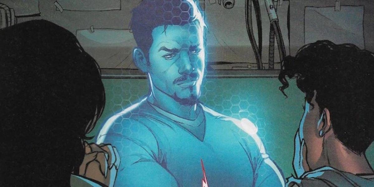 Tony Stark's A.I. copy