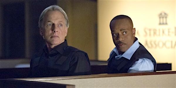 gibbs and vance on NCIS