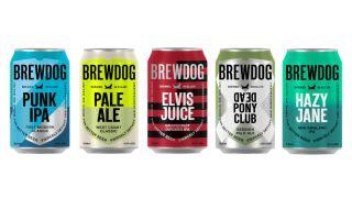 Brewdog 2020 cans