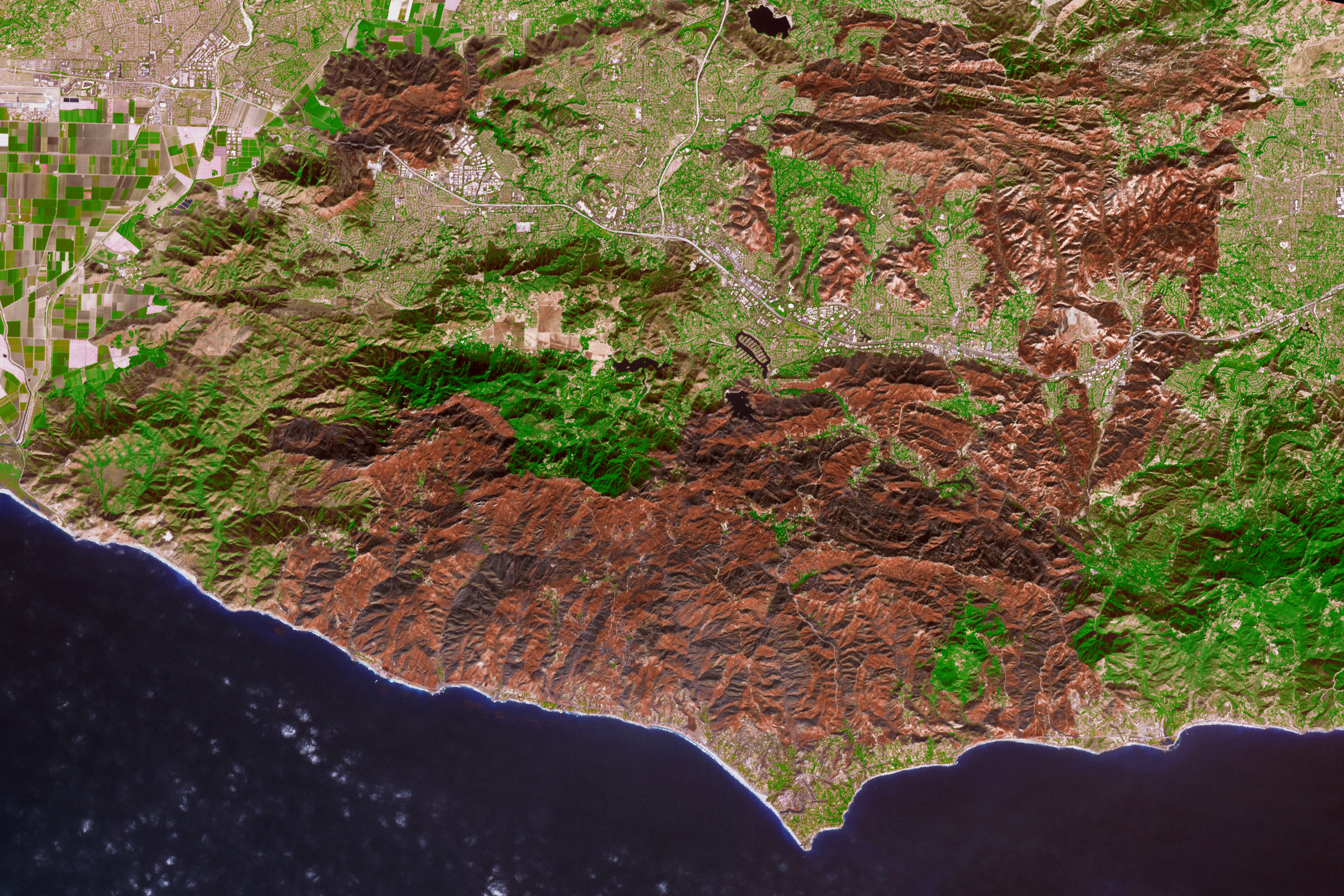 Nasa S Radar Expertise Is Helping California S Woolsey Fire Recovery