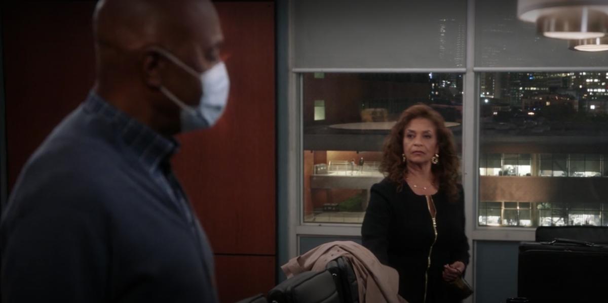 Grey's Anatomy Catherine Fox Richard Webber Grey-Sloan boardroom