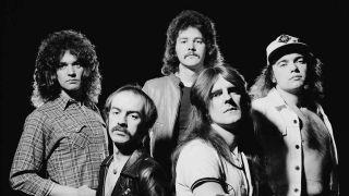 Saxon in 1981