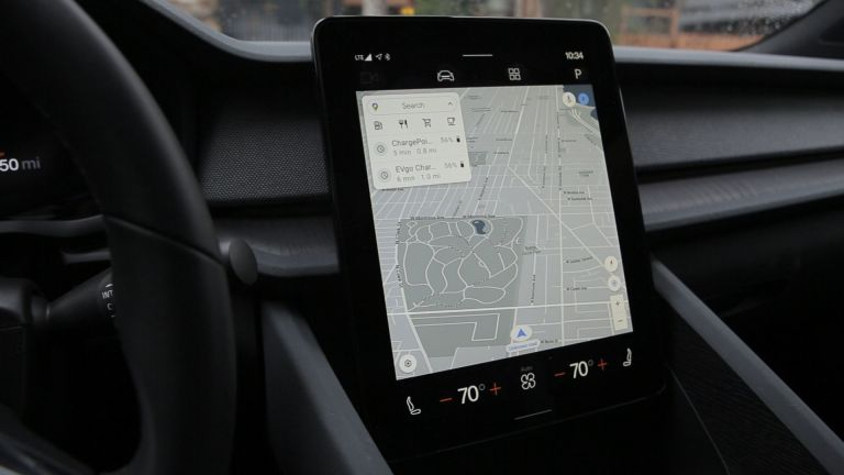 Android Automotive in the Polestar 2
