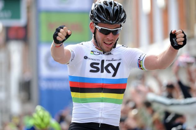 Mark Cavendish wins final stage, Tour of Britain 2012, stage eight
