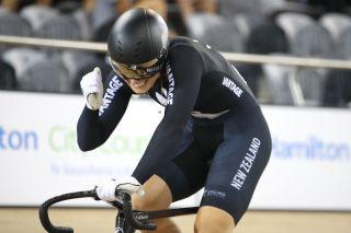 Olivia Podmore riding for New Zealand