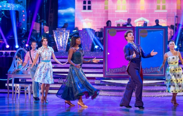 Strictly Come Dancing's Jamelia and Tristan MacManus