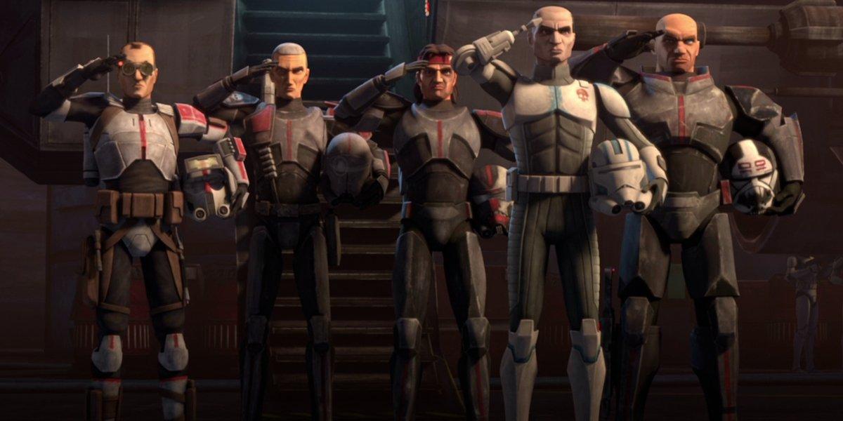 Clone Force 99 in Star Wars: The Clone Wars
