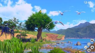 Pokemon Snap Flopping by the Water