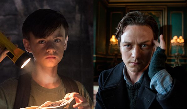 Bill Denbrough IT Jaeden Lieberher James McAvoy