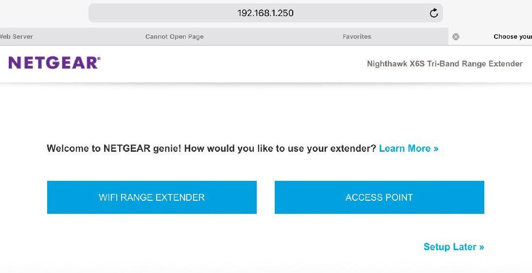 Netgear Nighthawk X6S EX8000 Tri-Band WiFi Extender – Full