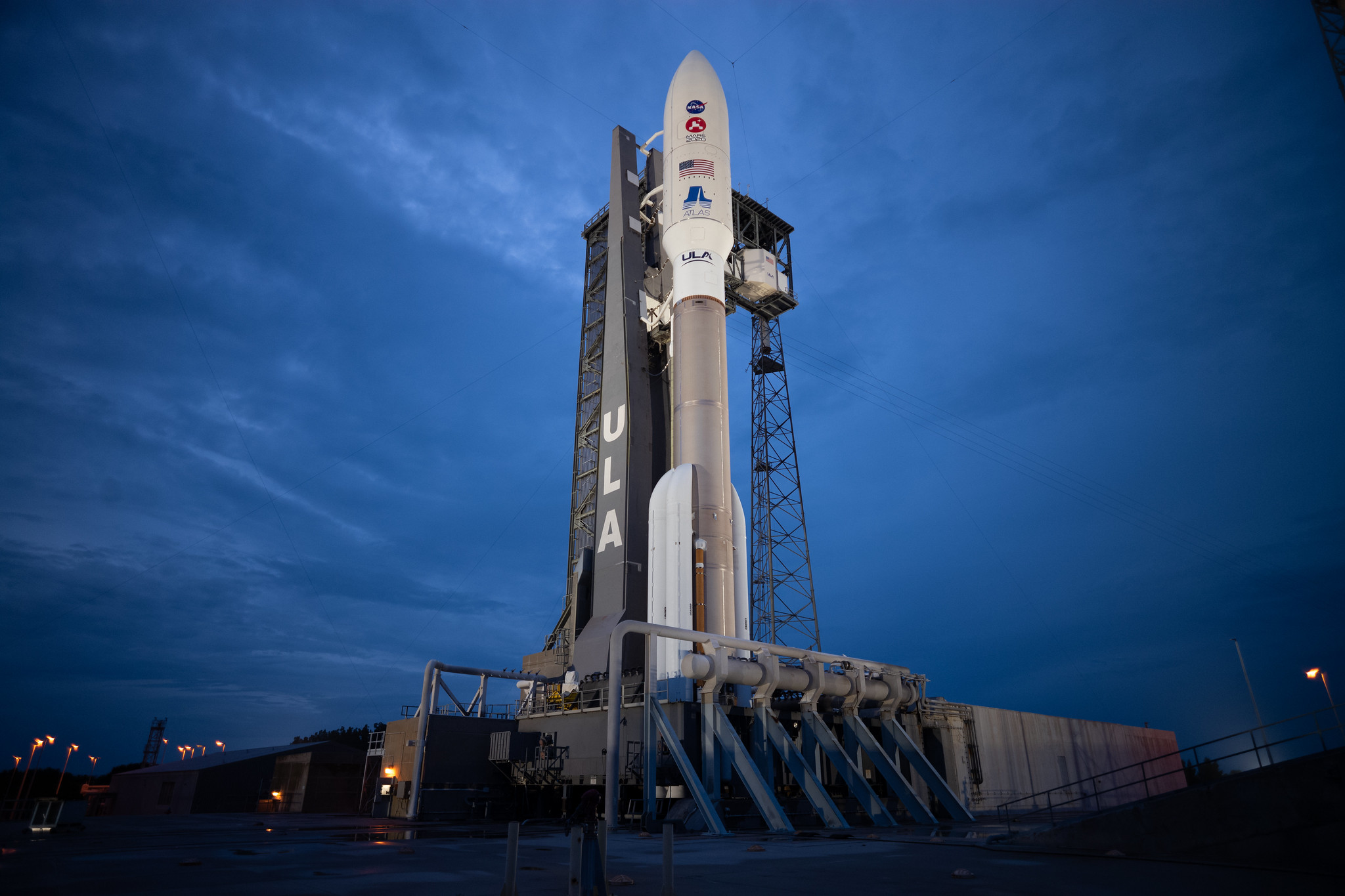NASA's Mars 2020 Perseverance rover is poised and ready to launch to Mars aboard a United Launch Alliance Atlas V rocket.