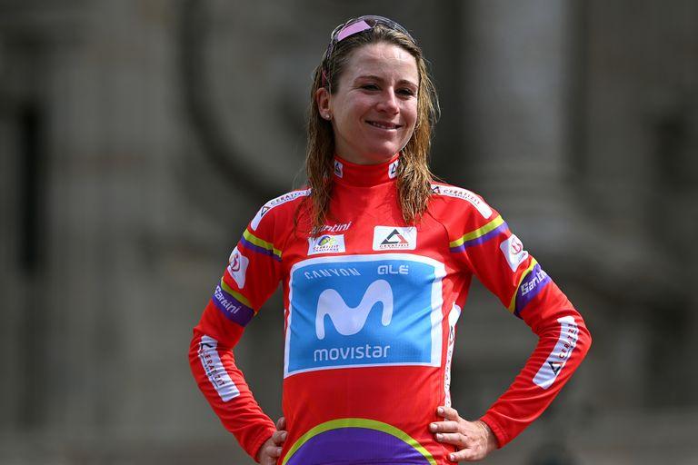 Annemiek van Vleuten at the Challenge by La Vuelta