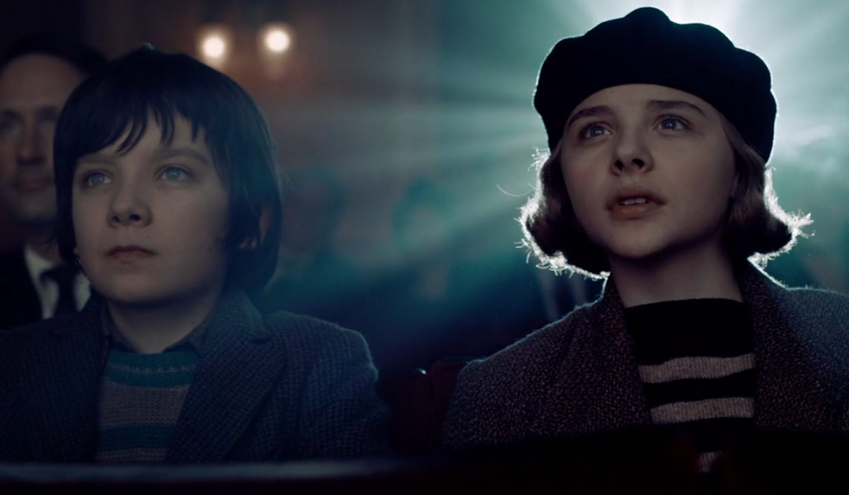 Hugo Asa Butterfield and Chloe Grace-Moretz amazed at the movies