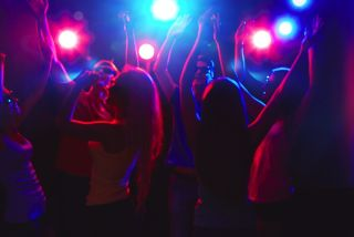 An image of a dance party