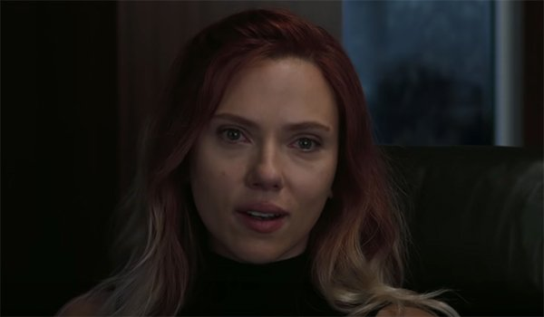 Black Widow tearing up in Avengers HQ