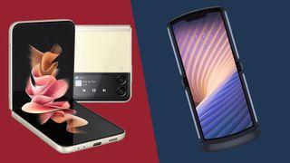 The Samsung Galaxy Z Flip 3 vs Motorola Razr 2020
