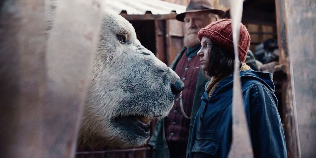 Lyra in the show His Dark Materials.