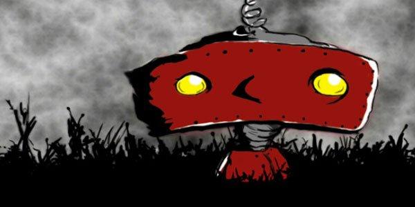 The Bad Robot logo.