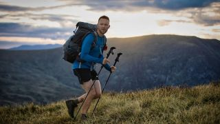 James Forrest on his 214 Wainwright expedition