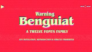 ITC Benguiat font sample