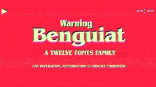 ITC Benguiat font sample