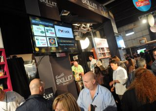 Digital Signage at NY Wine & Food Festival
