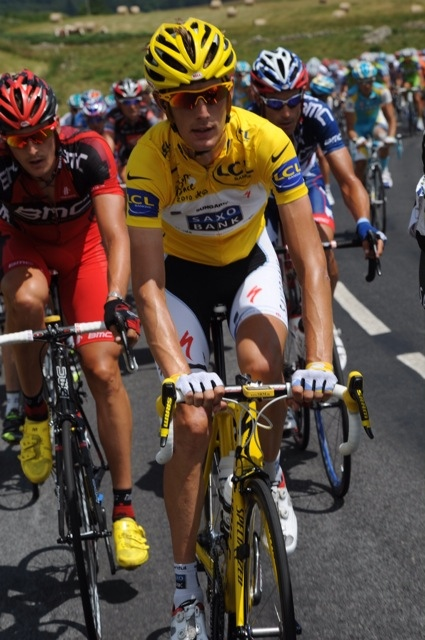Andy Schleck, Tour de France 2010, stage 12