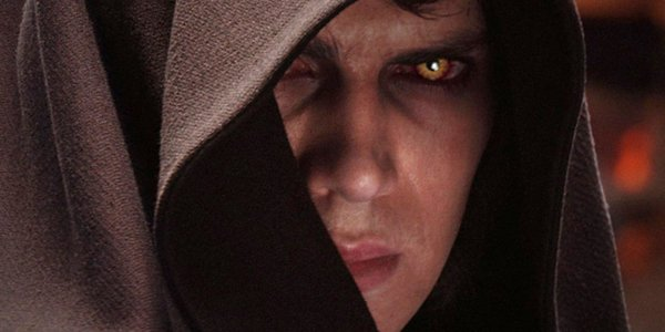 Darth Vader glares in Star Wars Episode III Revenge of the Sith